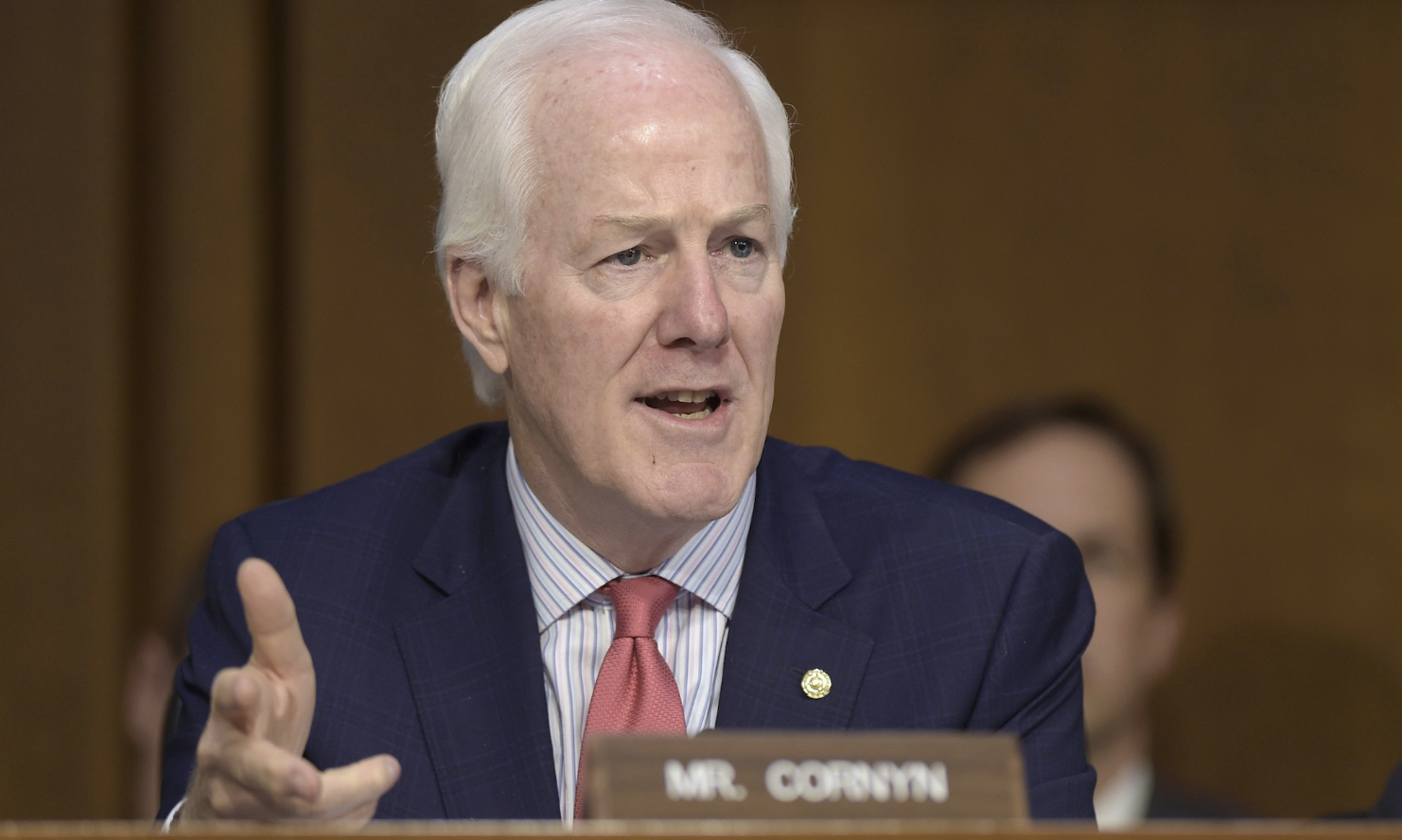 Sen. John Cornyn and other Republicans have criticized the Green New Deal. Photo: Susan Walsh/ AP
