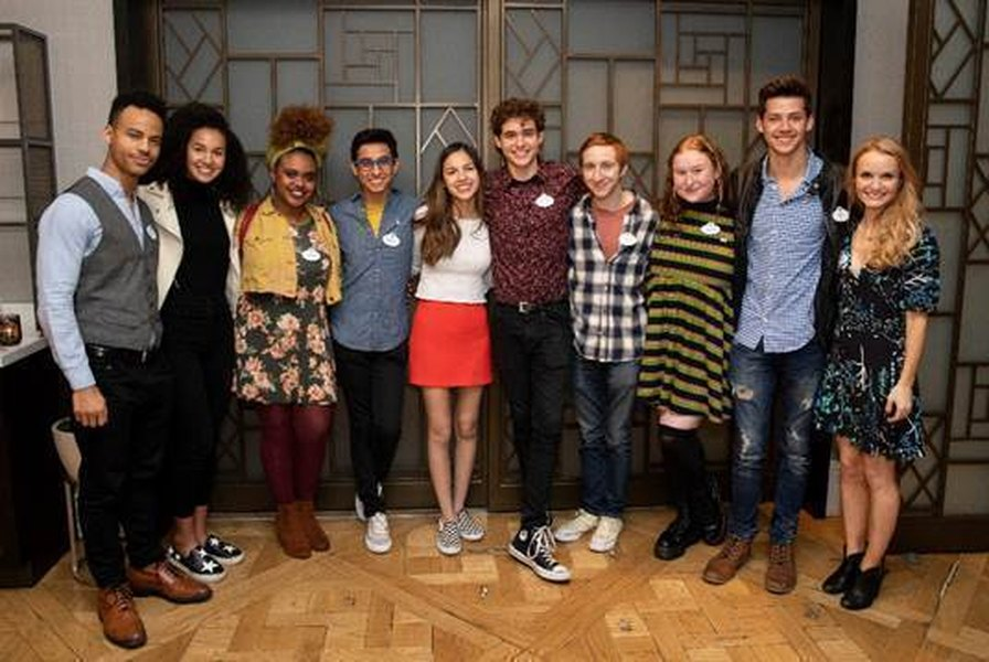 The cast of the new  High School Musical: The Musical: The Series . Photo:   The Salt Lake Tribune