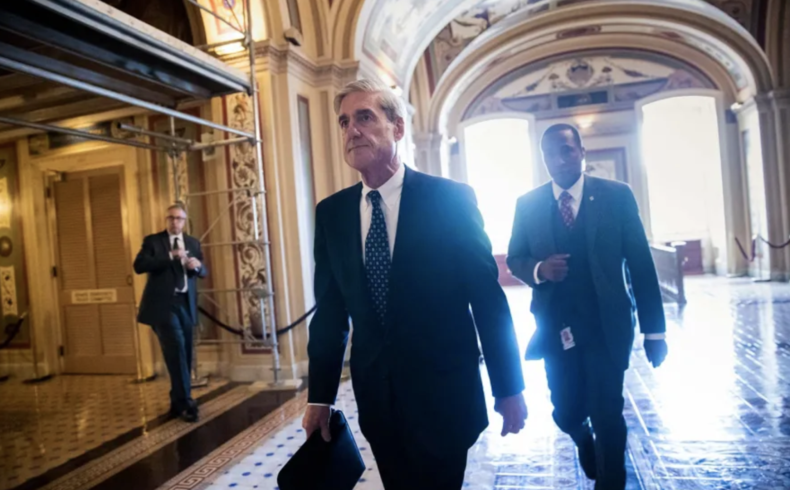 The Special Counsel investigation, led by Robert Mueller, lasted for 22 months. Photo: J. Scott Applewhite/ AP