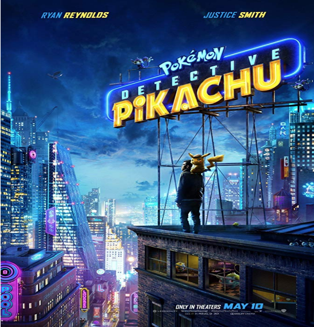 Poster for  Pokémon: Detective Pikachu , a film also produced by Toho. Photo:  IMDb