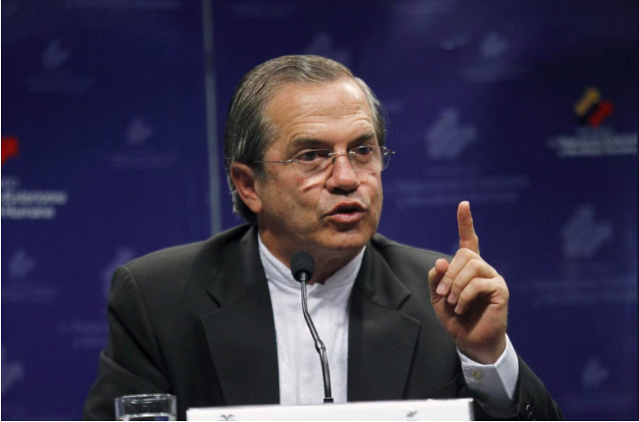 Former Minister of Foreign Affairs Ricardo Patiño  Photo: Guillermo Granja/  Reuters