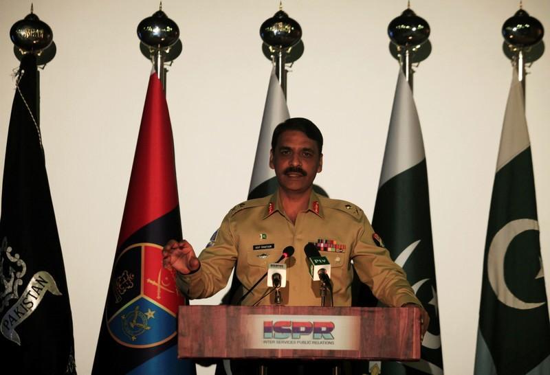 "General Asif Ghafoor, who announced Pakistan's plan to ""mainstream"" 30,000 madrasas; Photo:  Firstpost"