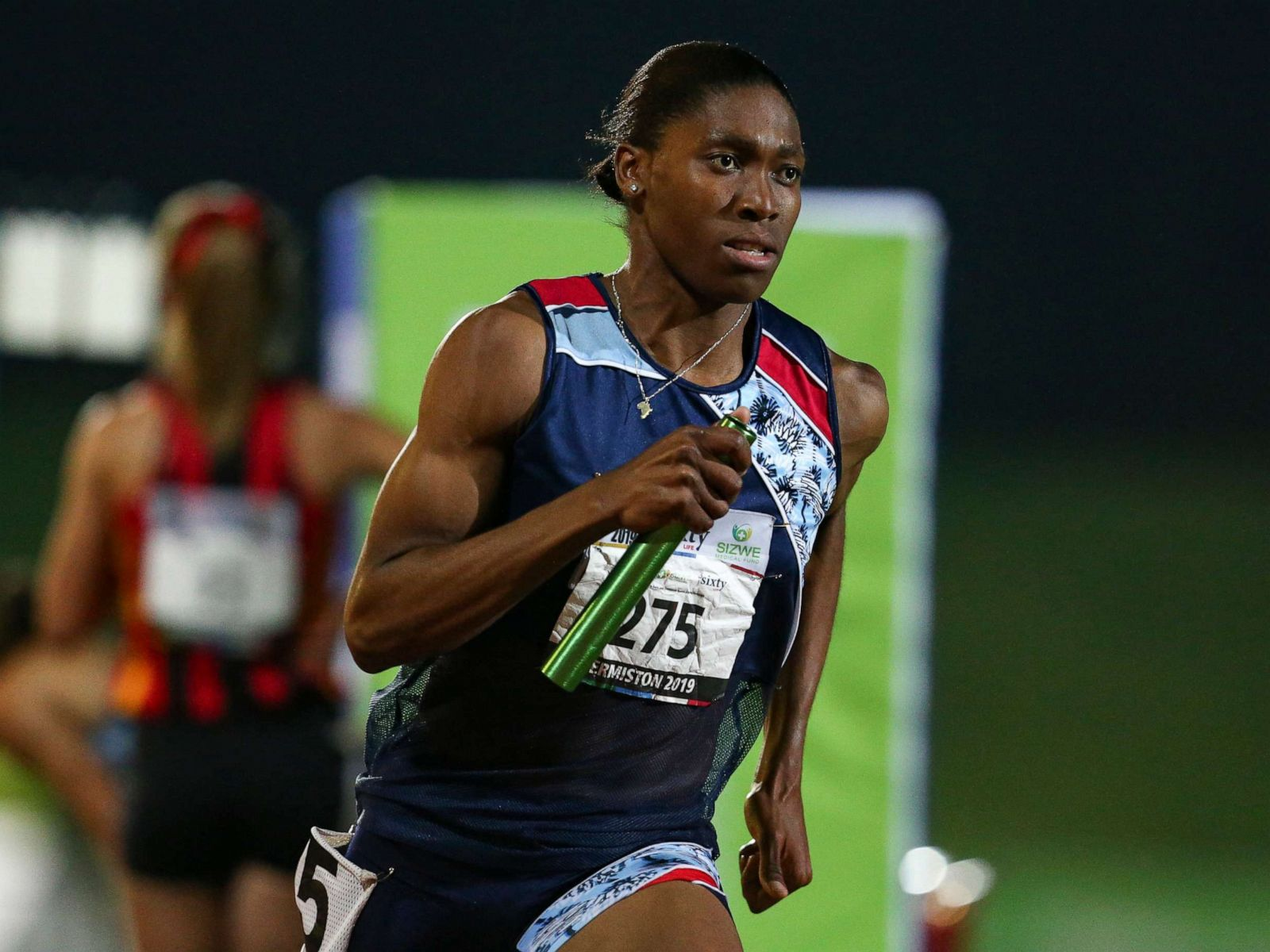 Caster Semenya competes in Johannesburg, South Africa. Photo:  Roger Sedres | AP .