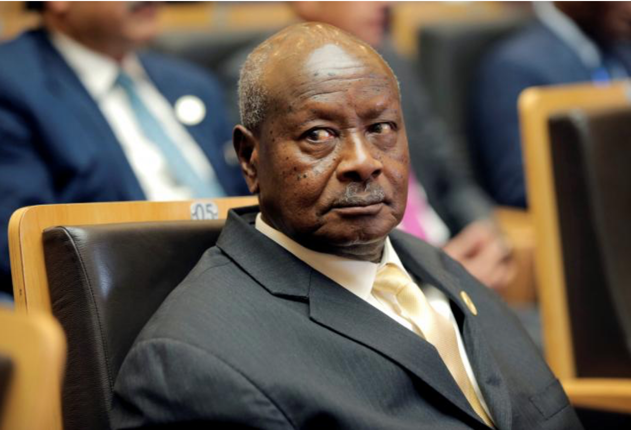 Ugandan President Yoweri Museveni, known for making controversial statements, has been in power since 1986. Photo: Tiksa Negeri/ Reuters via Newsweek