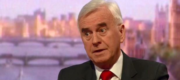 Labour shadow chancellor John McDonnell expressed concerns over PM May's lack of confidentiality about talks of a cross-party Brexit deal. Photo:  PA Images
