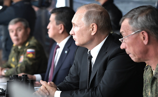 Russian President Vladimir Putin. Photo:  kremlin.ru
