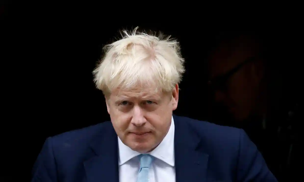 Boris Johnson has faced another Brexit setback at the hands of the EU, just after winning a vote for a withdrawal plan in Parliament. Photo:  Henry Nichols / Reuters