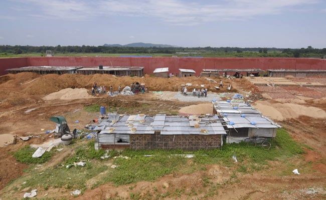 Construction of India's first detention center. Photo:  Reuters