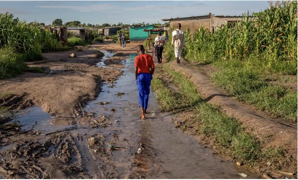 A shanty town outside Harare, Zimbabwe, where drug use remains rampant. Photo: Cynthia Matonhodze - The Guardian