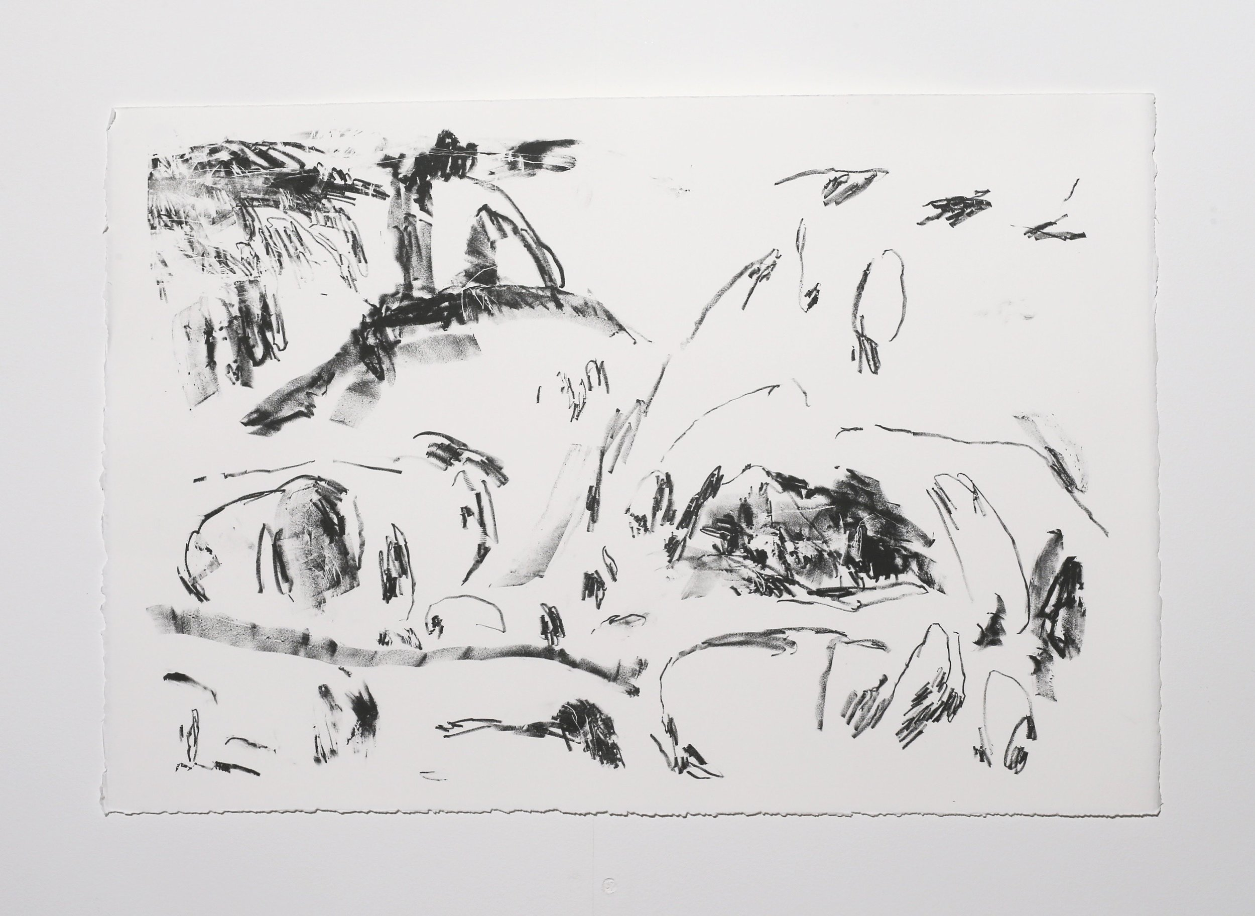 Scene I , 2019, lithograph on paper, 38 x 56.5 cm (paper size) Edition of 2 $250