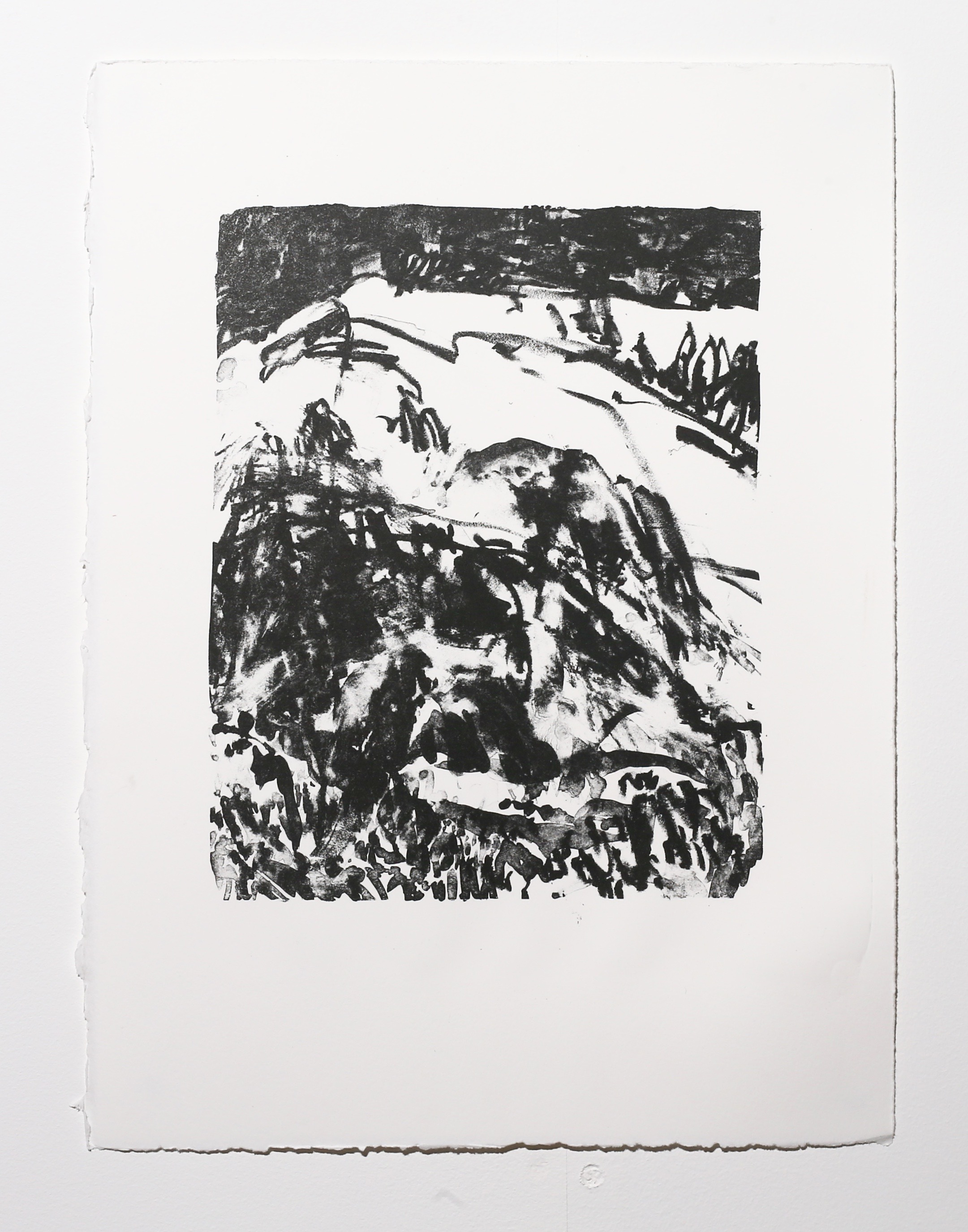 Landscape , 2019, lithograph on paper, 38 x 28.5 cm (paper size) Edition of 4 $170