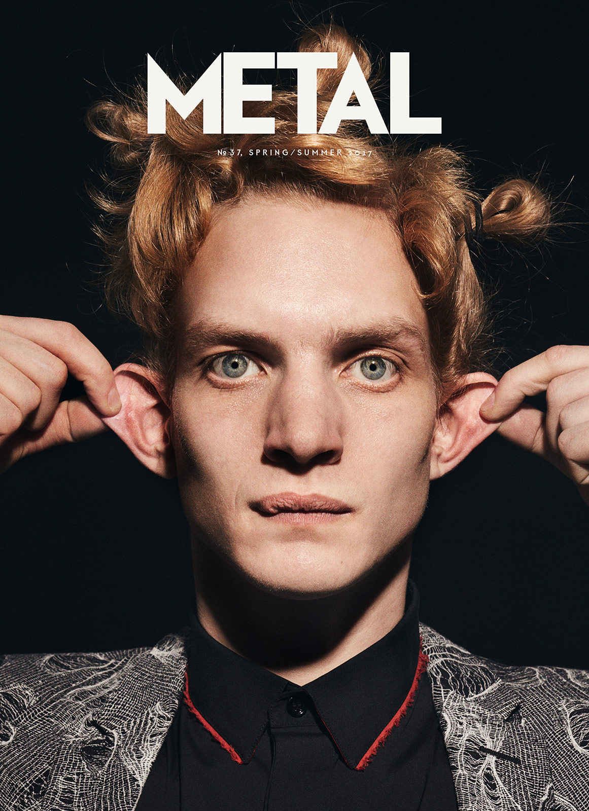 COVER 5 - Paul Boche photographed by Jana Gerberding wearing Dior Homme.