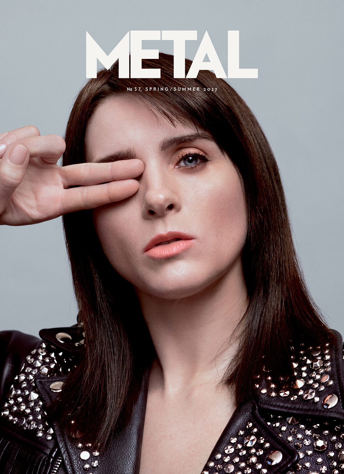 COVER 6 - Michele Hicks photographed by Ben Lamberty wearing jacket Rodarte.