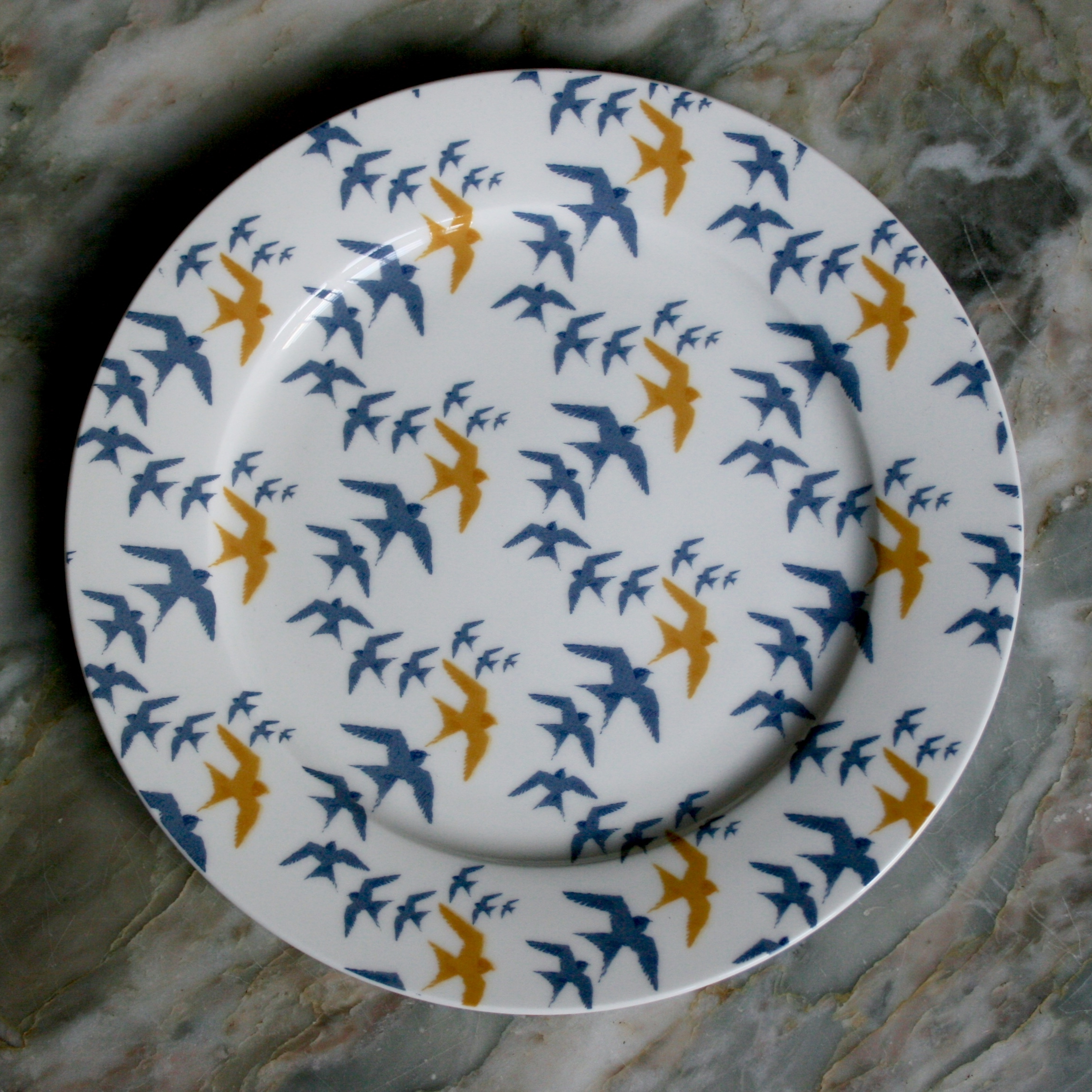 Flock - Bone China Plate