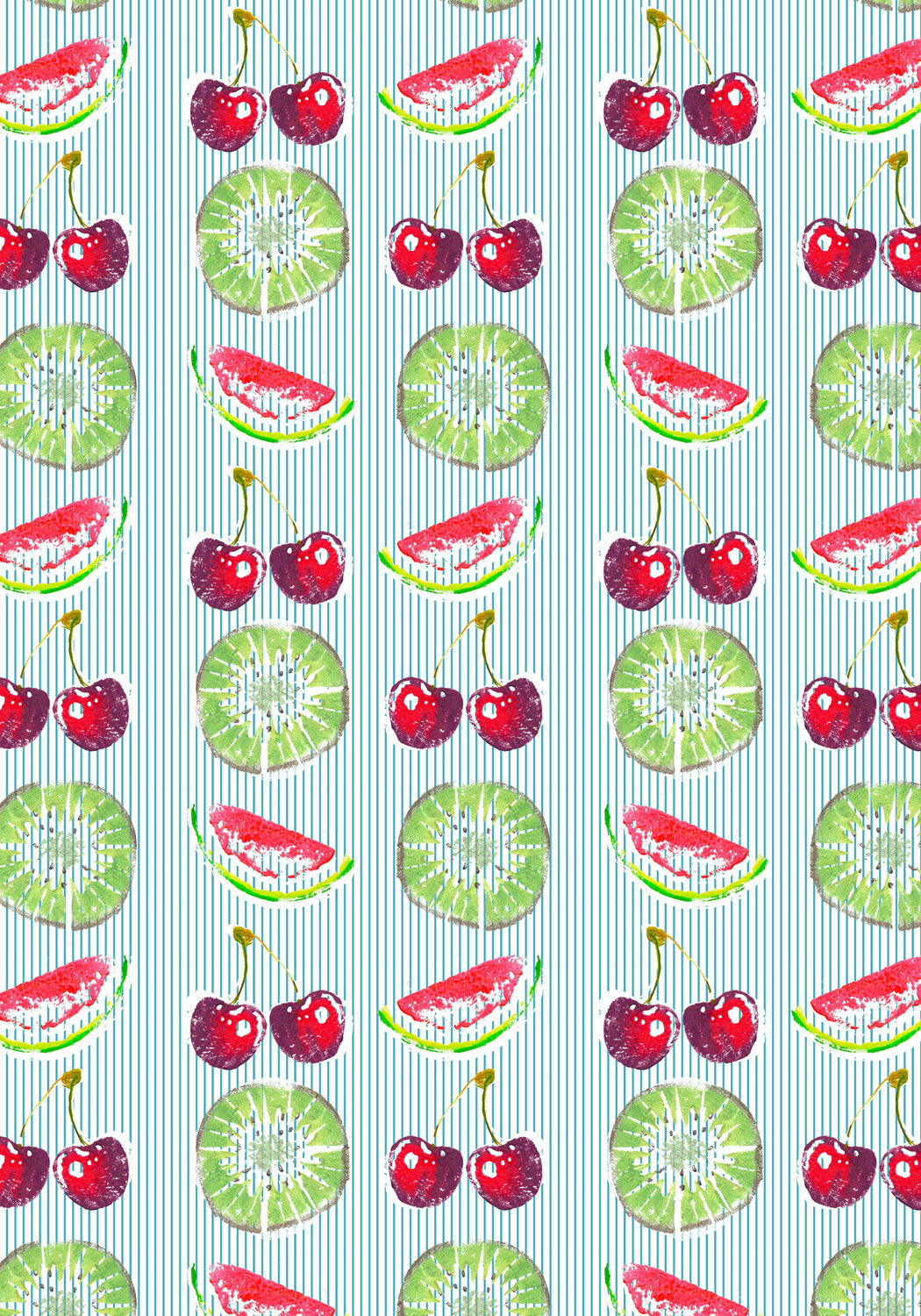 Fresh Fruit Stripe