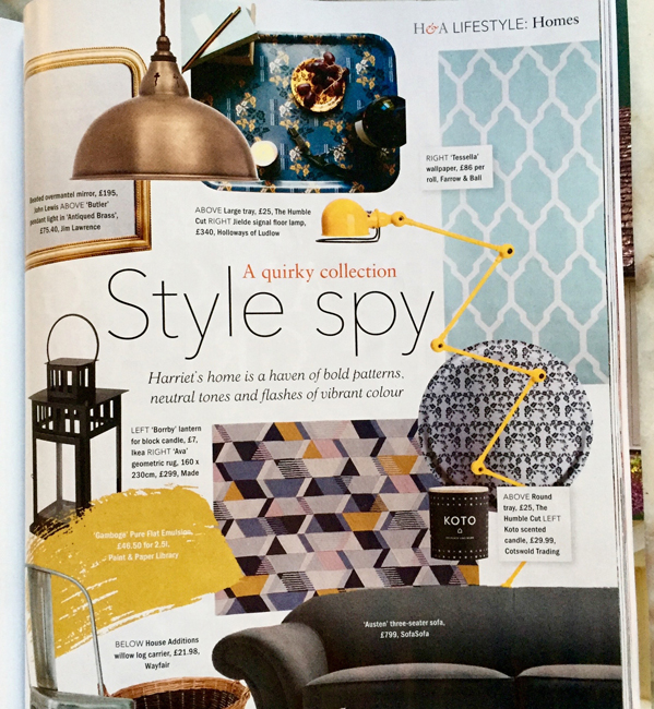 "Our H&A ""Style Spy"" feature"