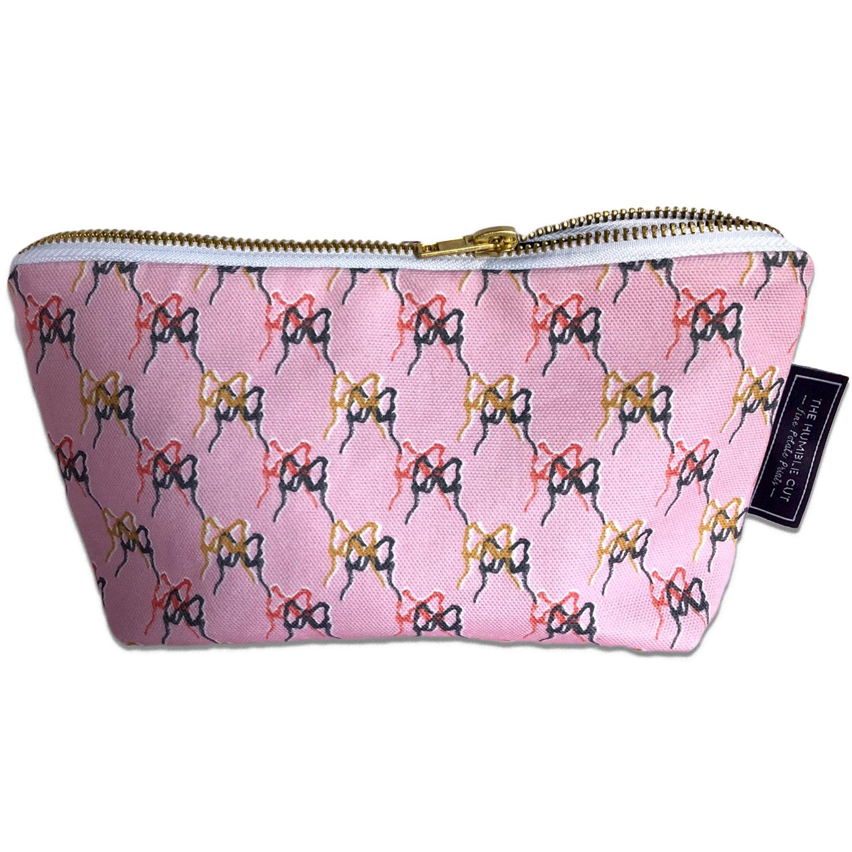 Ballet Blush Cosmetic Bag