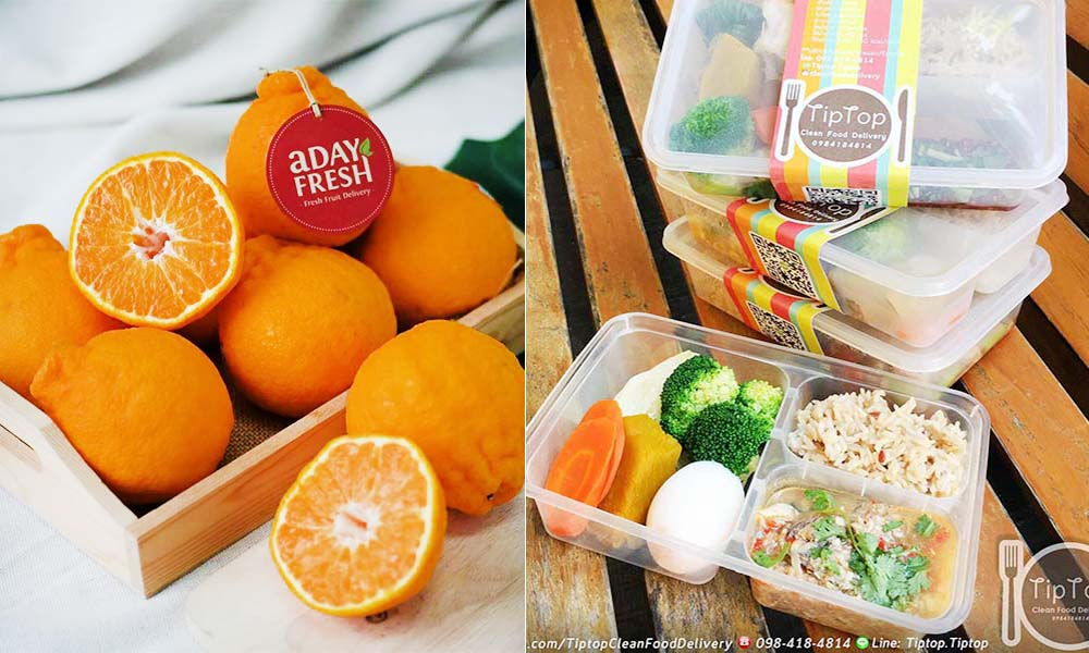 ภาพจาก A Day Fresh , TiptopCleanfood
