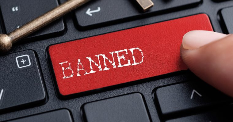 Facebook account suspended - banned