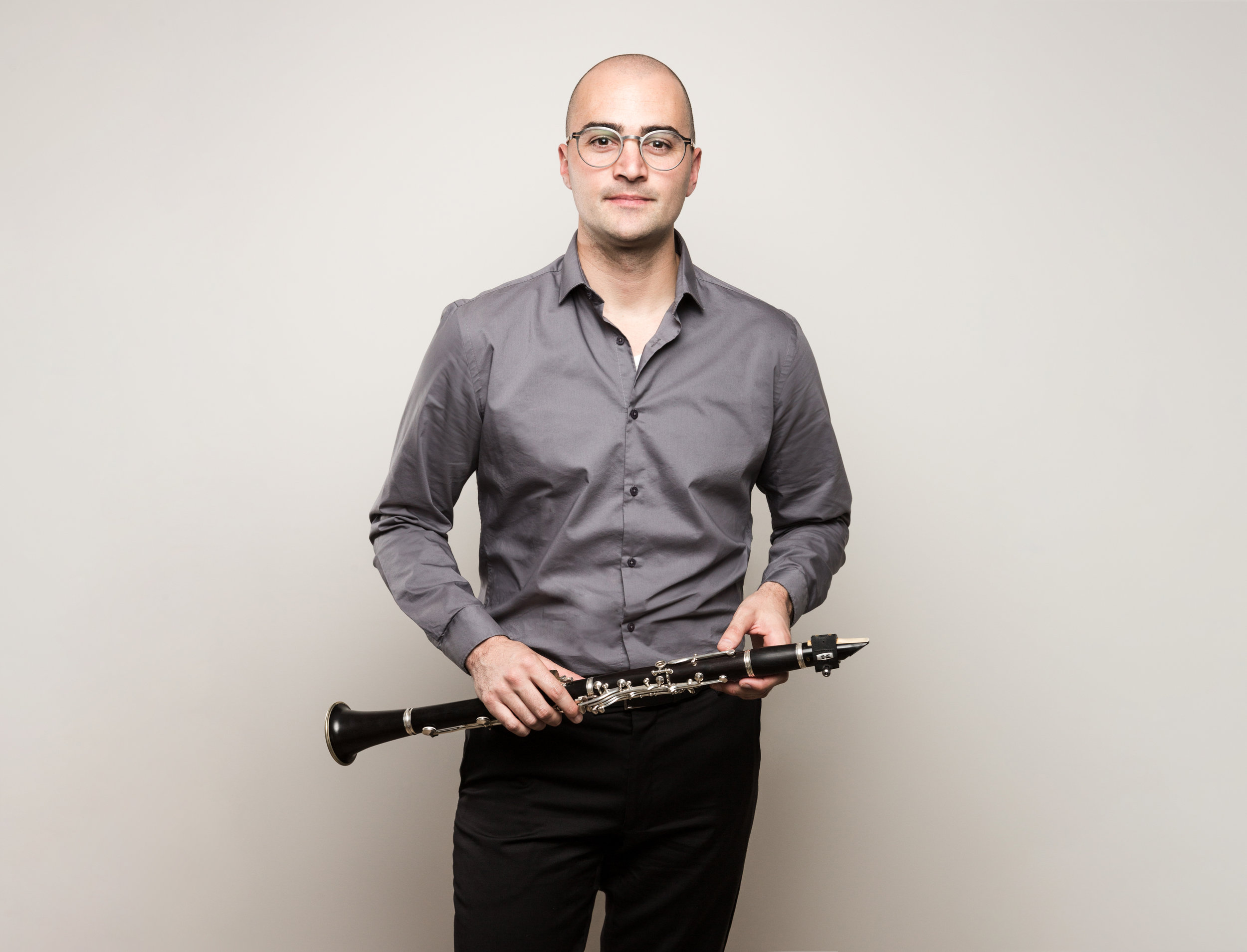 Justin Beere - Co-Director/Clarinet