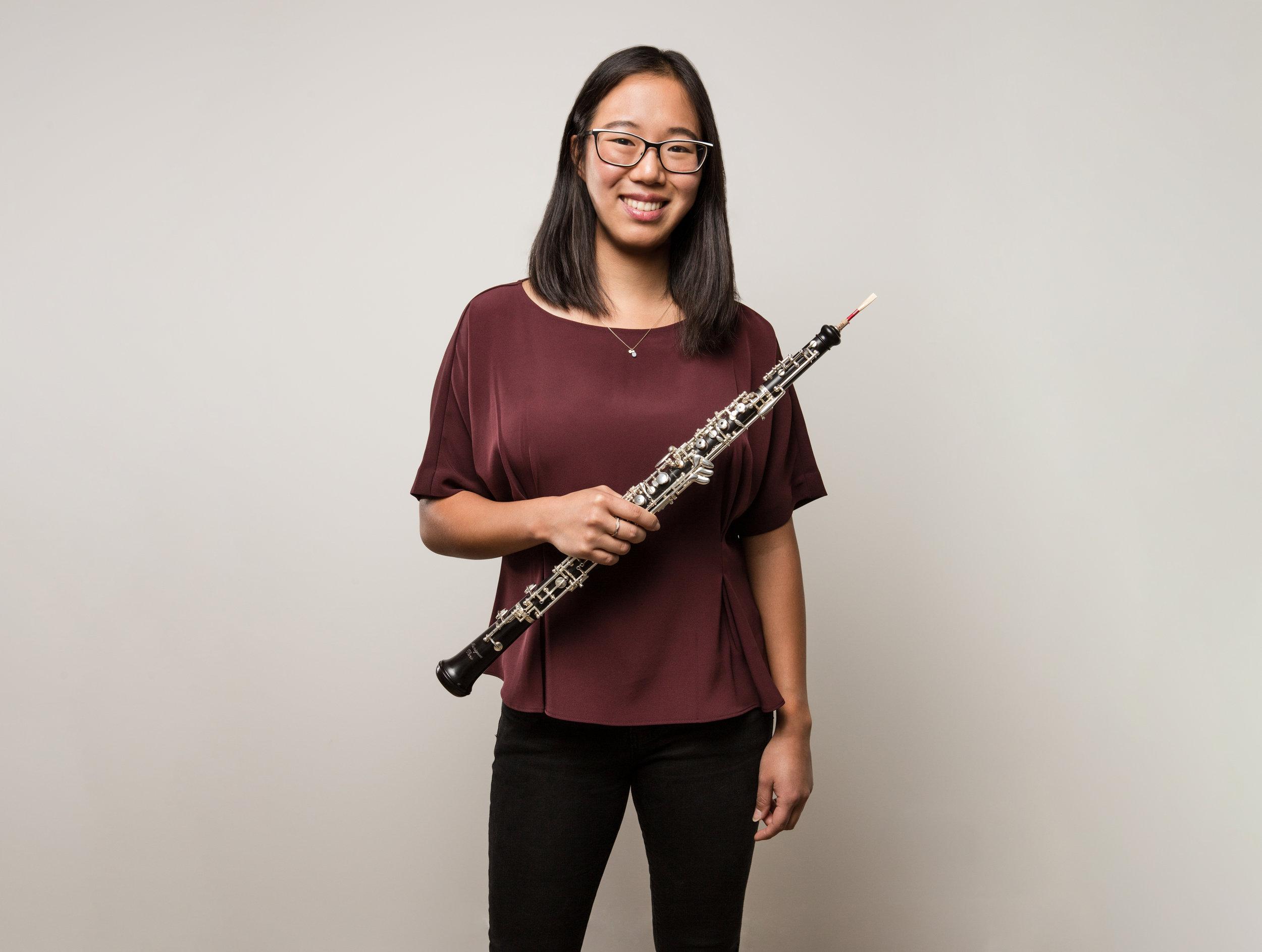 Steph Dixon - Co-Director/Oboe