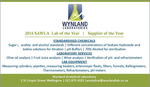 Advertisement -    Wynland Laboratories