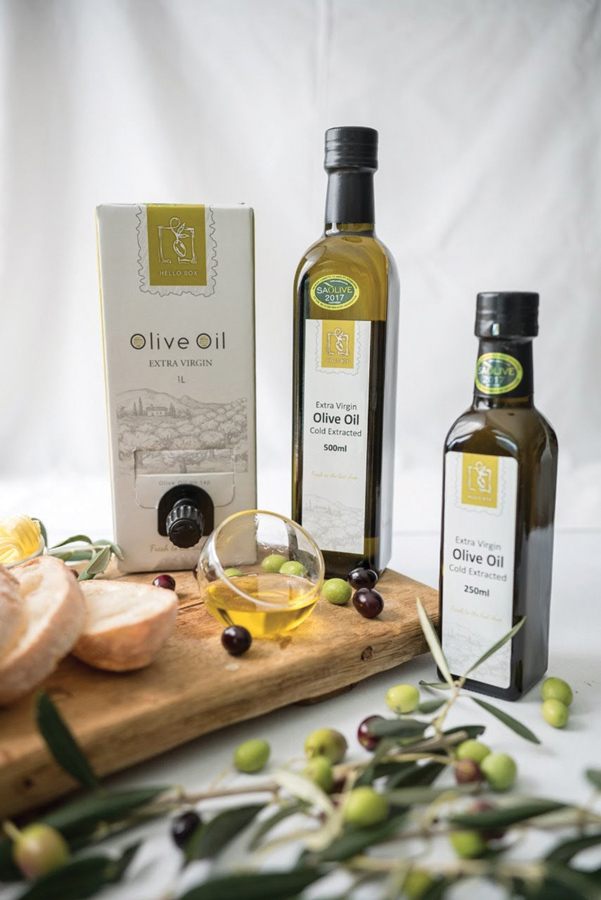 Hellobox Extra Virgin Olive Oil - 01