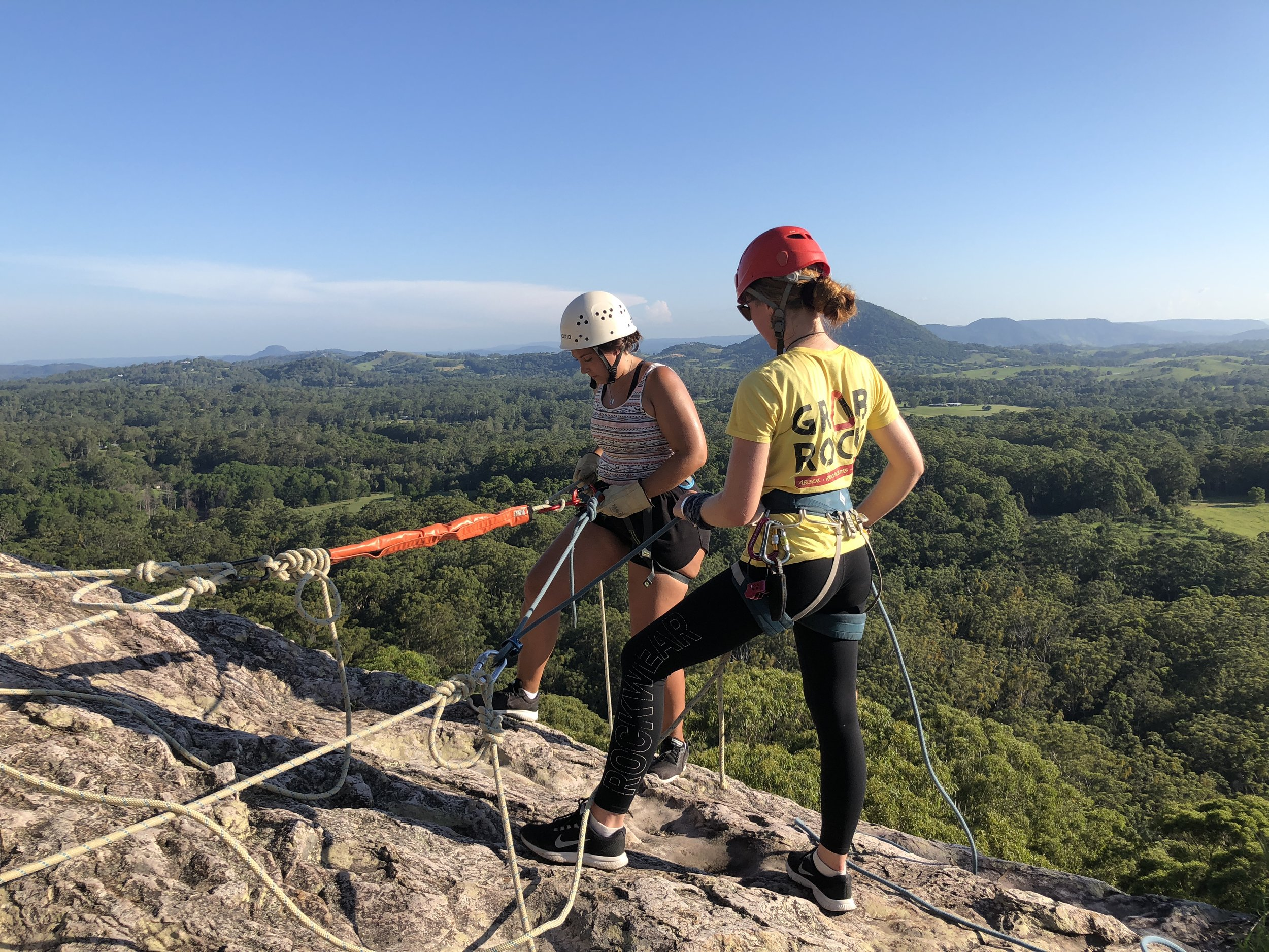 Abseil & rock climb -