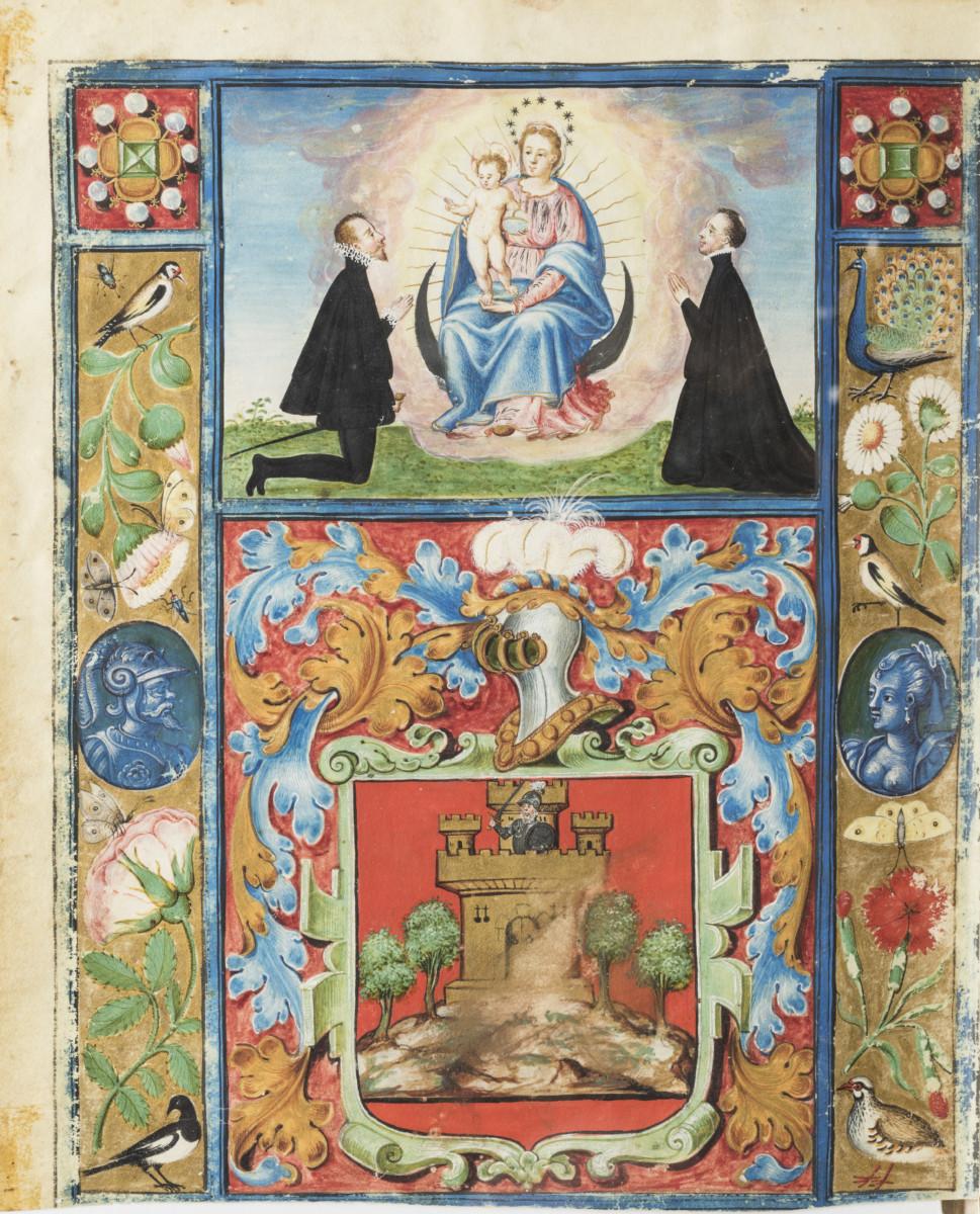 Carta ejecutoria of Eujenio Alfonso de Rioja, 1602