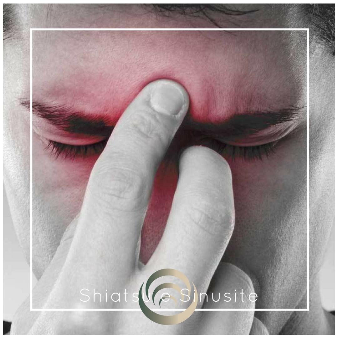 La sinusite è un blocco nel flusso di energia che attraversa il corpo -