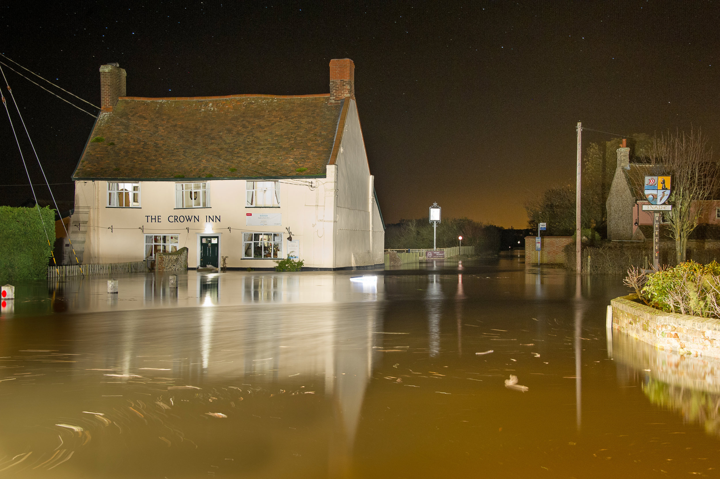 26 homes were flooded in Snape during the 2013 storm surge