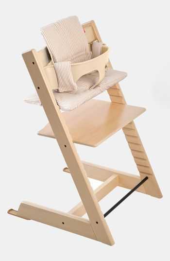 Most importantly, I love how easy to clean our  Stokke Tripp Trapp  high chair is.  They are beautifully designed, come in a variety of color options and are not big and bulky like many high chairs on the market.  I also love that this chair grows with your child so we can continue to adjust it and use it for years to come.