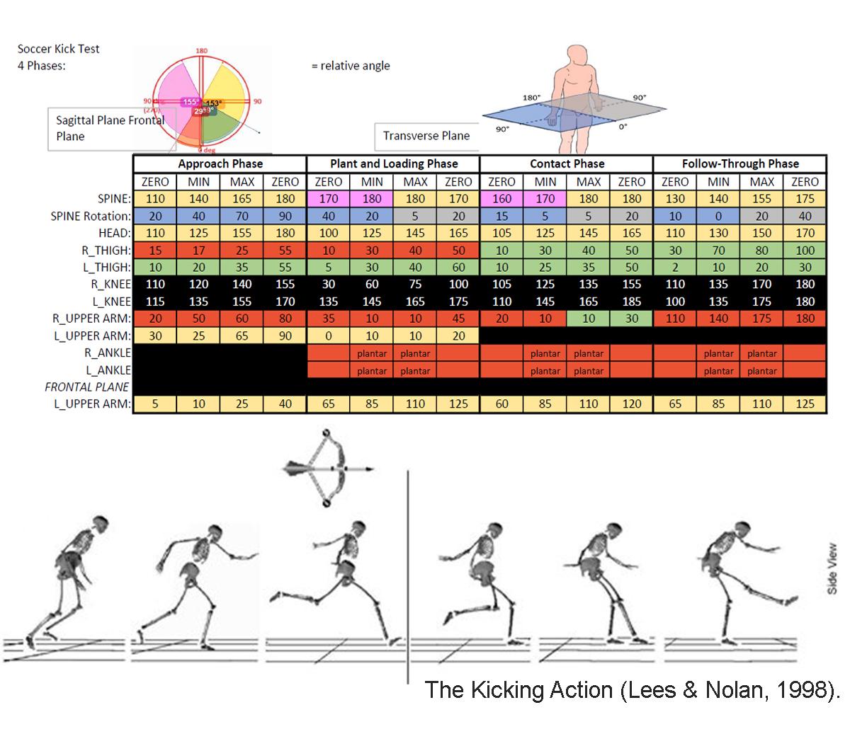 The Kicking Action (Lees & Nolan, 1998).