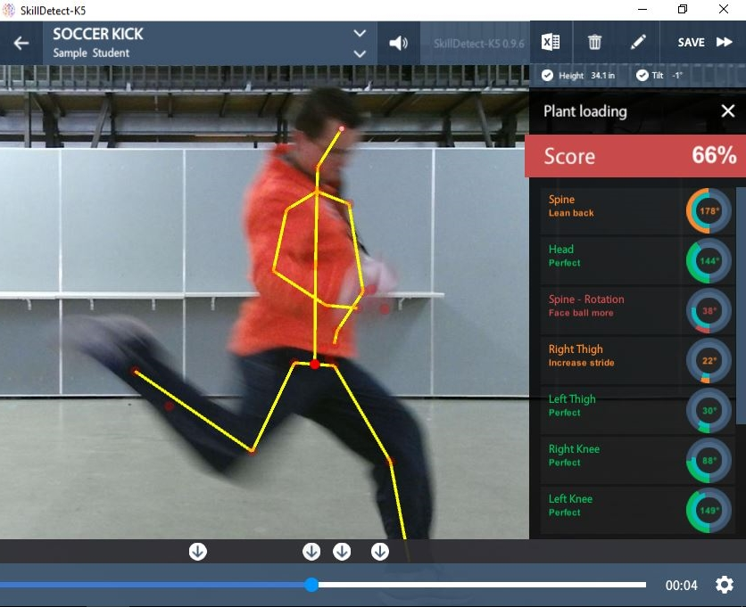 Biomechanics Simplified - There has long been a debate on how to teach motor skills accurately without burdening the teacher or the student. The AssessLinkPE app has taken peer-reviewed research on fundamental motor skills and filtered it down to where a student can be compared to the biomechanical
