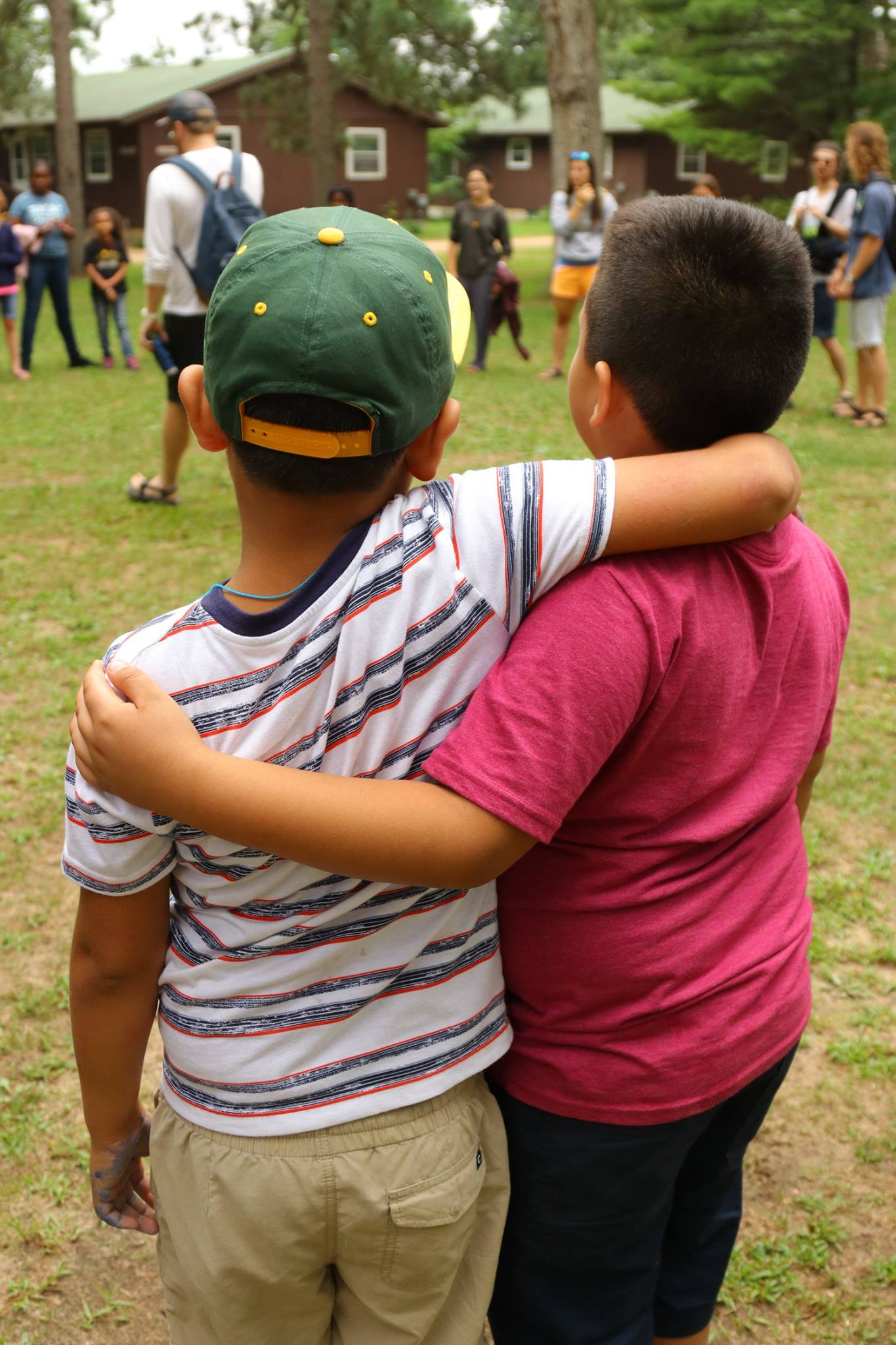 We will start by having tons of fun together at camp. We will play together, learn together, eat together, and share a living space together. We will think and tinker and laugh together.  We will re-encounter each other, one true self to another.