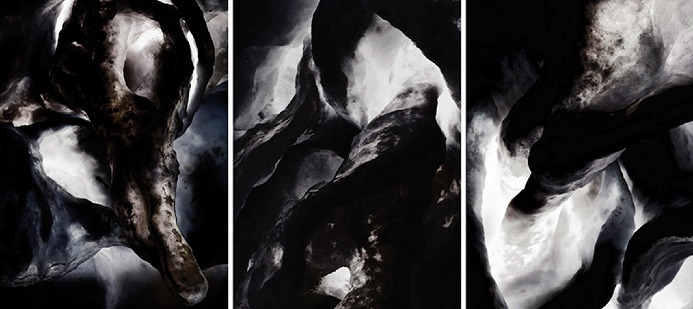 X 23  Triptych N°3, 2014/2015 Tirage gélatino argentique, 3 panneaux 144 x 104 cm chacun |Gelatin silver print, 3 panels 56,69 x 40,94 inches each  4/4