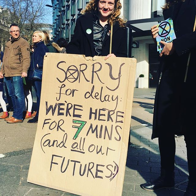 #LFW #extinctionrebellion #climatechangeisreal 💕