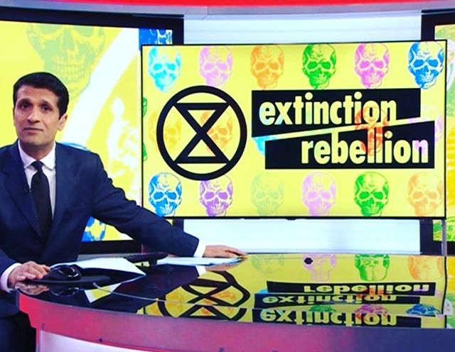 #extinctionrebellion #bbc @thisaintrock 💕