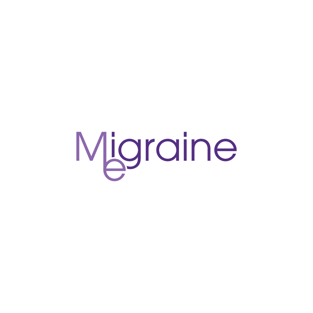 MigraineMe logo - This is for a headache not-for-profit to increase awareness of migraine i.e. many people have it and do not always recognise that they do.
