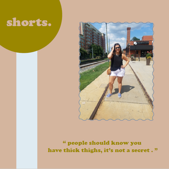 Shop all shorts and bottoms  here .