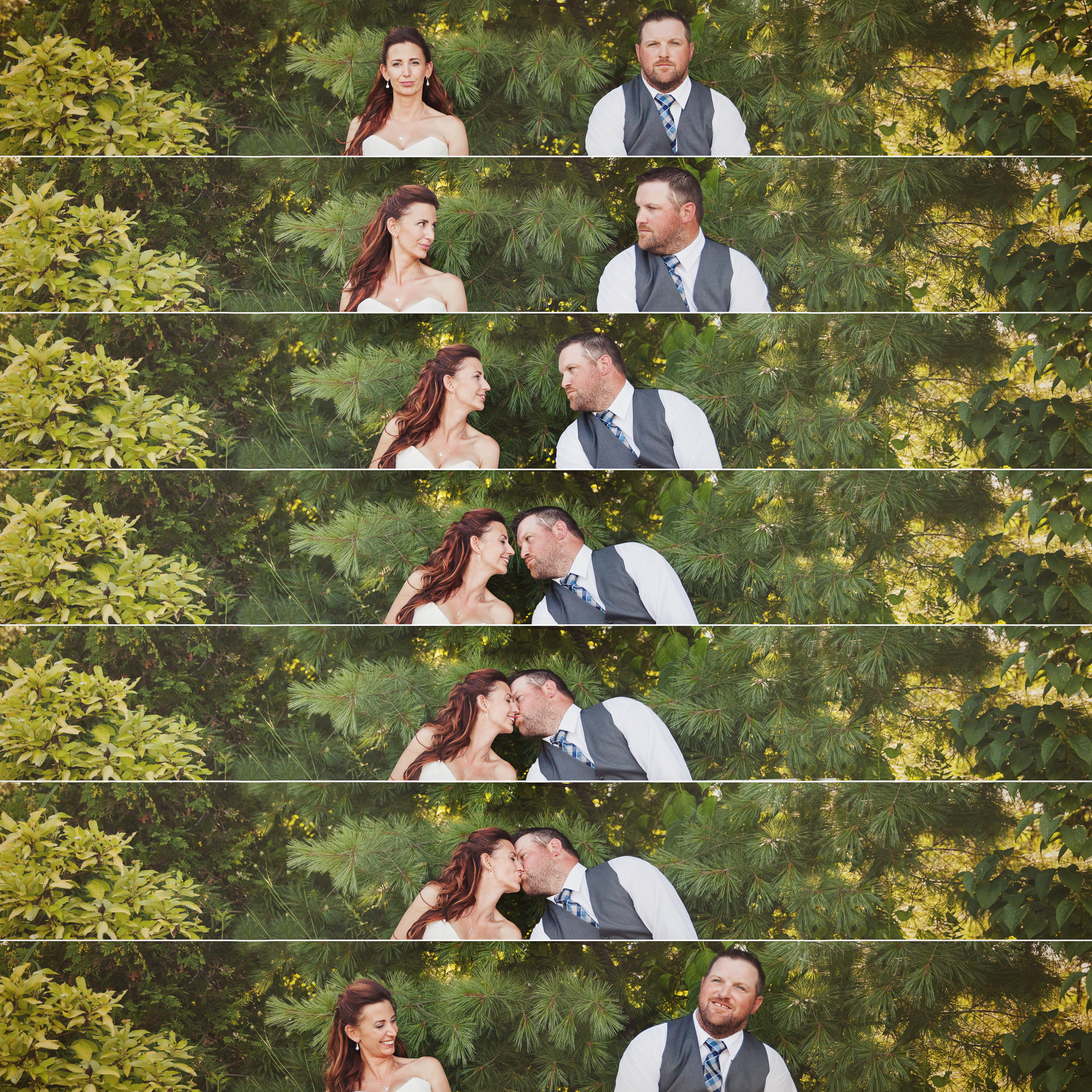 And then there's this. All the stages of a kiss! Stewart's face in the last pic makes my day!