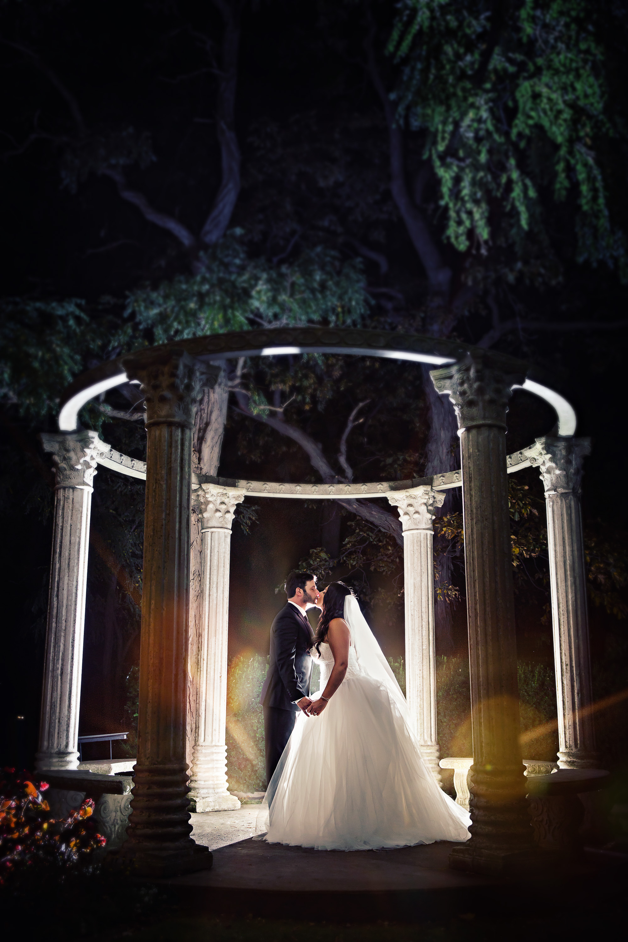 Right? I love them, and I love this gazebo, and I love this photo!