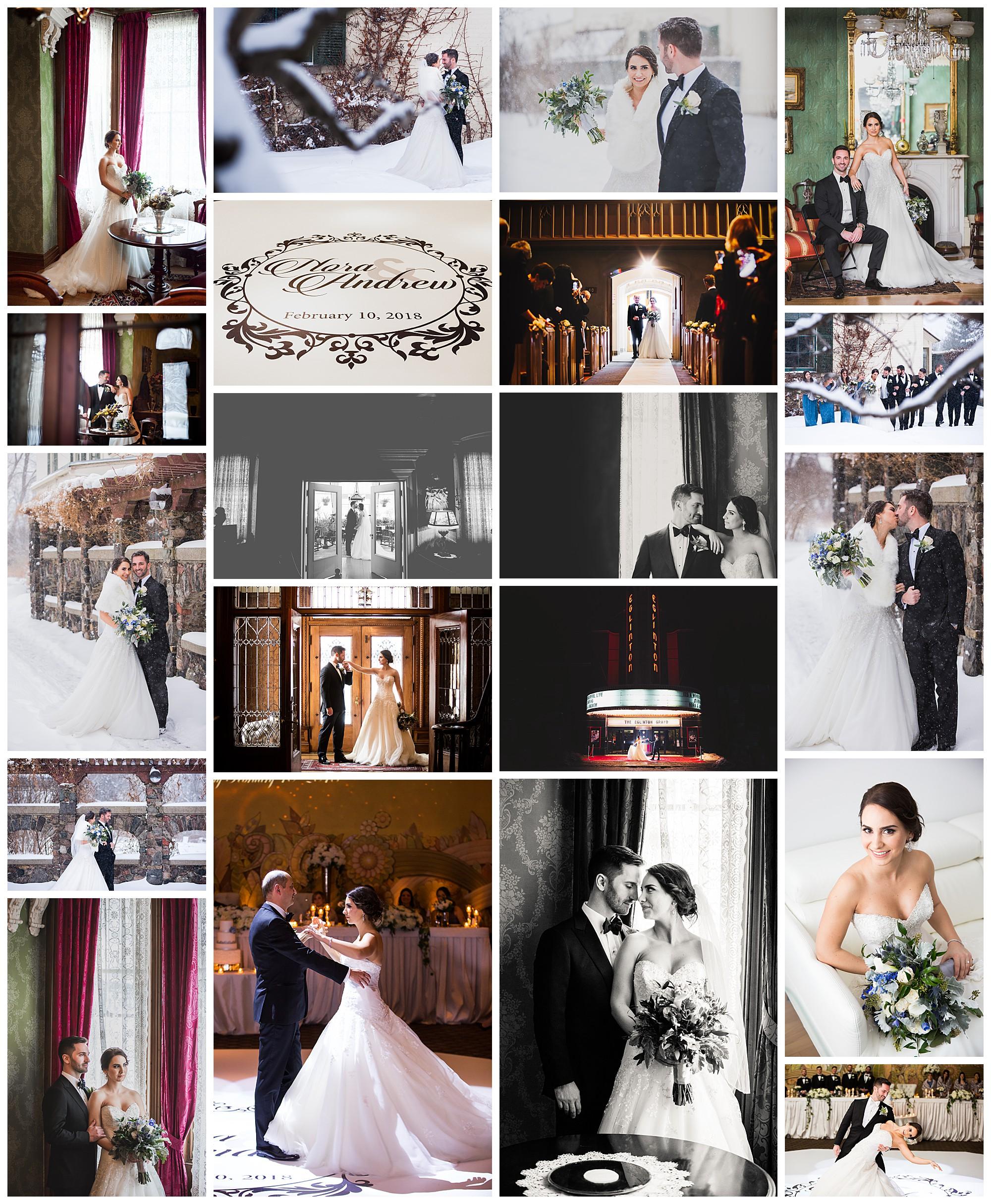 Eglinton Grand Theatre wedding photography by VanDaele & Russell, Toronto Ontario