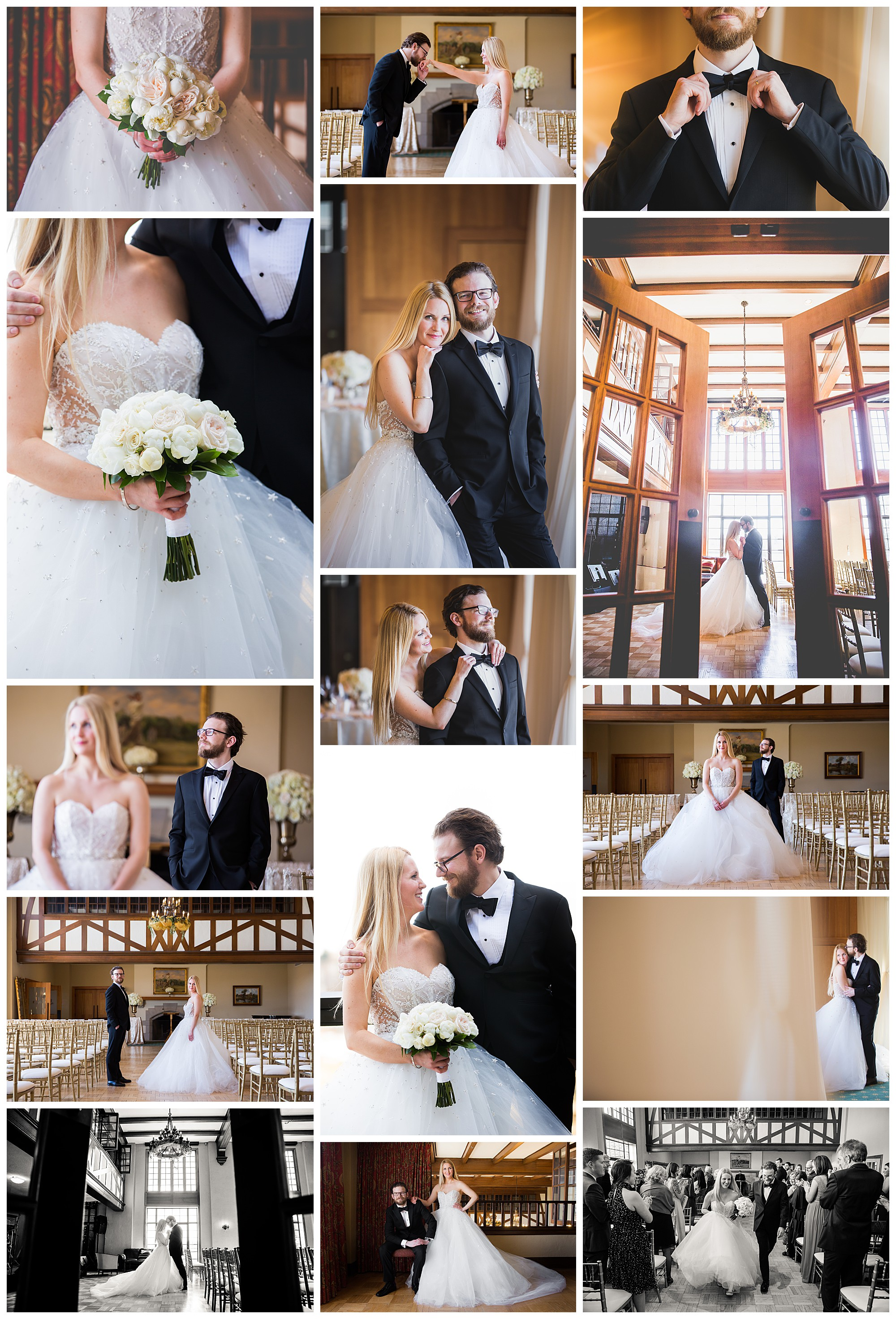 Hamilton Golf & Country Club, Ancaster Ontario wedding photos by VanDaele & Russell