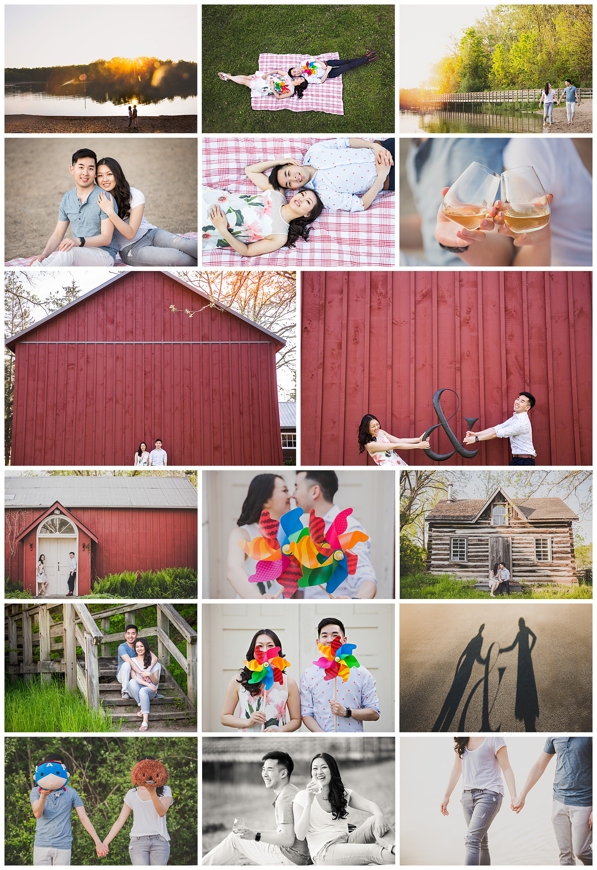 Kelso Conservation Area, Milton Ontario engagement photography by VanDaele & Russell
