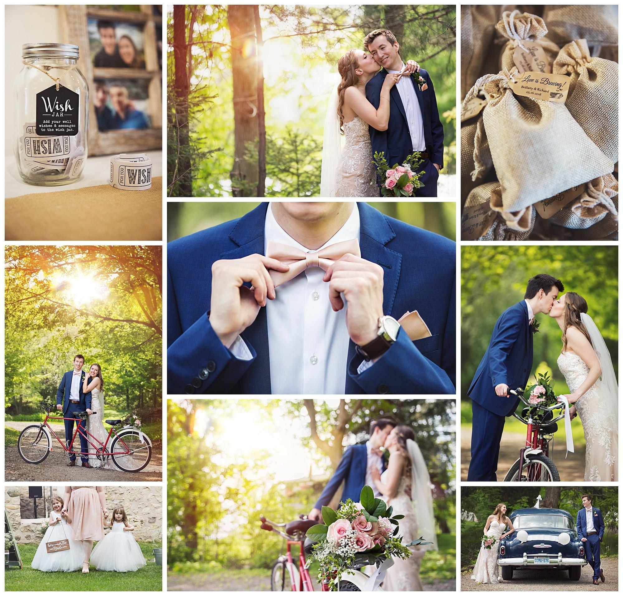 Alton Mill, Alton Ontario wedding photos by VanDaele & Russell