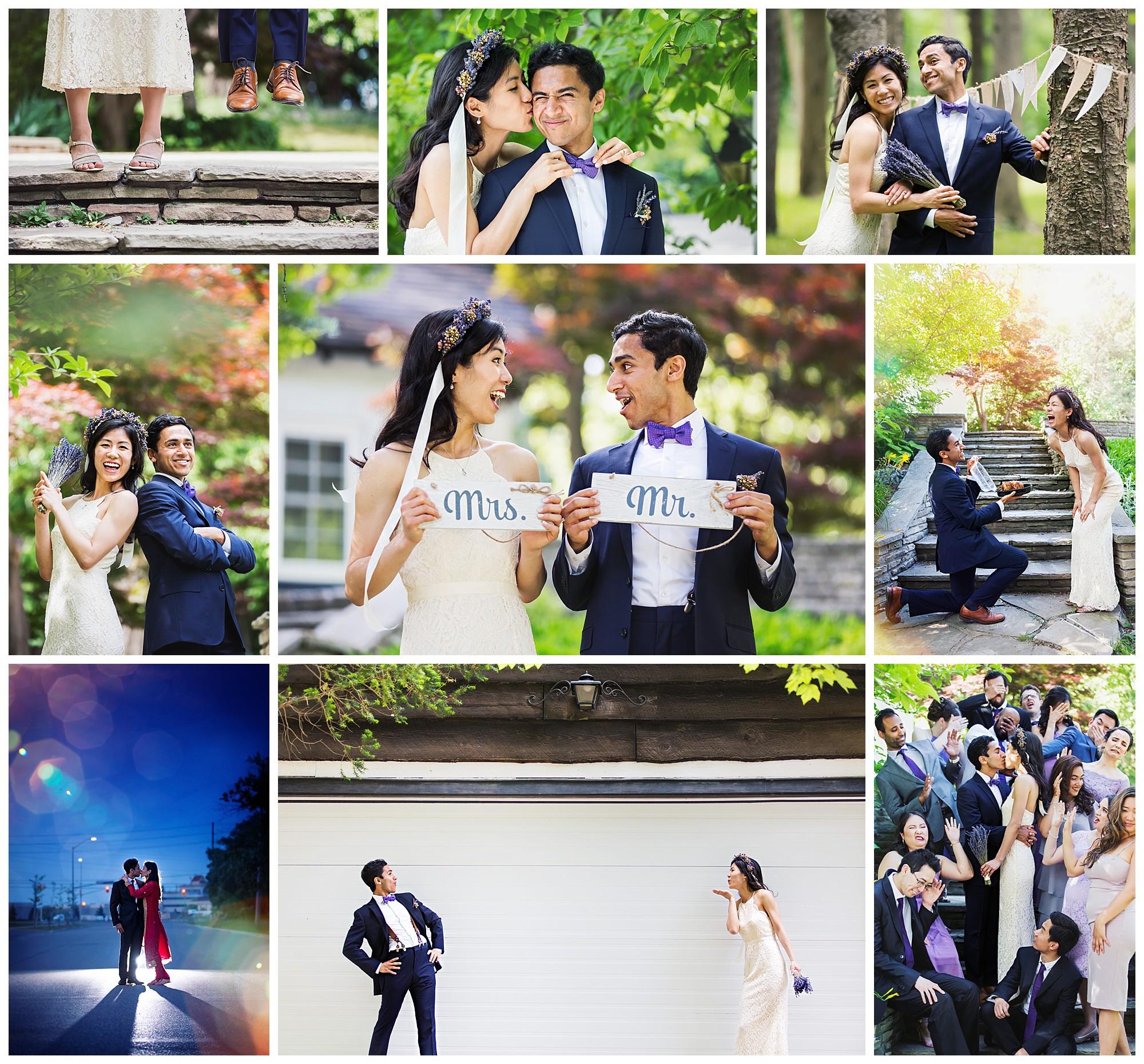 Fieldcote Memorial Park & Museum, Ancaster, Ontario wedding photography by VanDaele & Russell