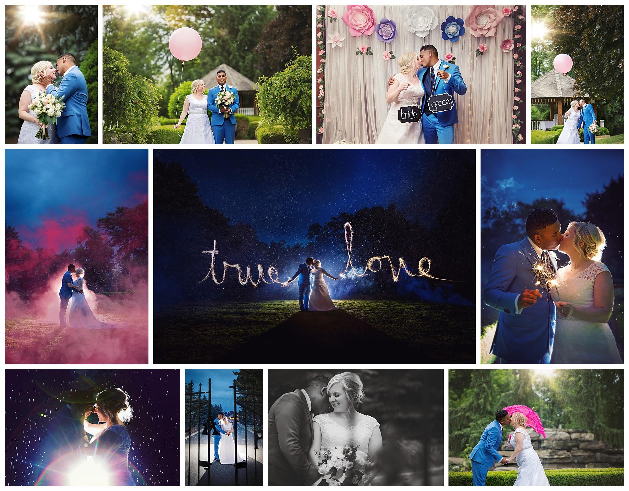 Terrace on the Green, Brampton, Ontario wedding photos by VanDaele & Russell
