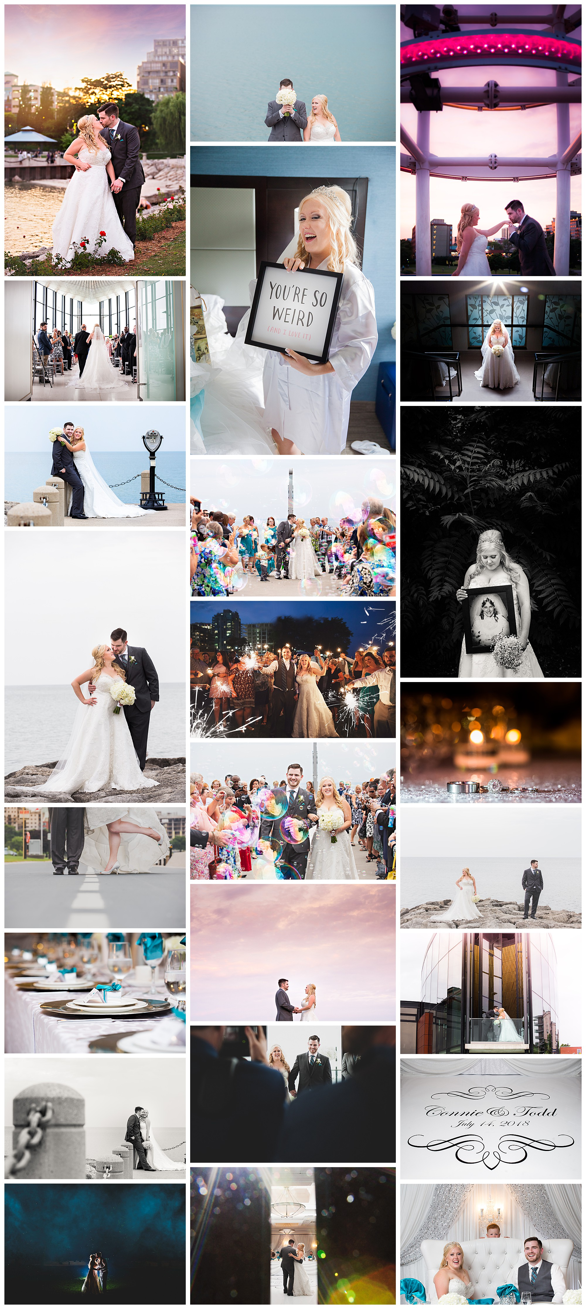 Spencers on the Waterfront, Burlington Ontario wedding photography by VanDaele & Russell