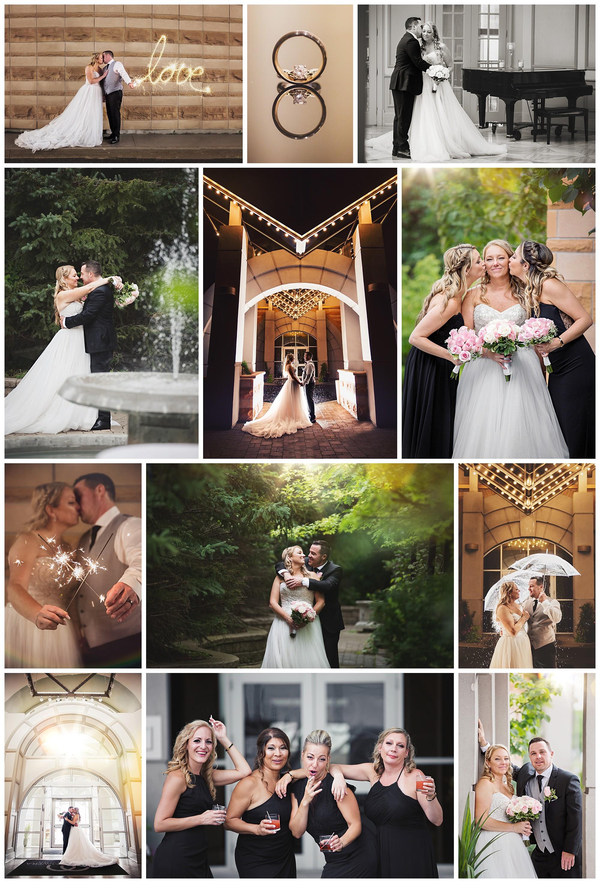 La Fontana Primavera, Vaughan, Ontario wedding photos by VanDaele & Russell